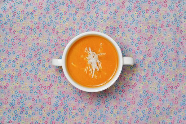 MISO TUBE でほんのり甘い「かぼちゃのみそポタージュ」